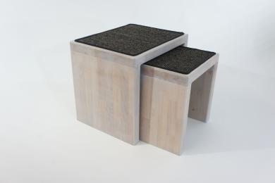 NEU •  Kratztisch - Duo • modern