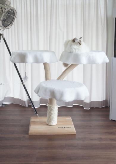 Natural wood cat tree – Acrux