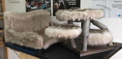 Kittenkratzbaum & Sofa vor Auslieferung